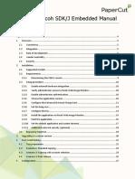 PaperCut MF - Ricoh SDKJ Embedded Manual - 2016-06-15