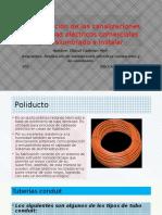 Especificación de Las Canalizaciones de Sistemas Eléctricos Comerciales