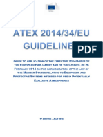 Atex 2014 34 Eu Guidelines 2016 First Edition