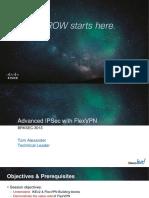 Cisco Advanced IPSec With FlexVPN