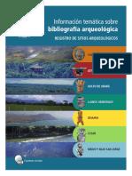 Información Tematica sobre Bibliografía Arqueológica
