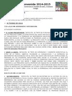 PROGRAMA DE INDUCCIÓN PARA INICIAR EL AÑO ESCOLAR EN EL BACHILLERATO