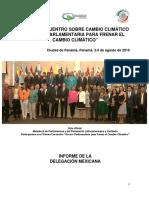 """29-09-16 Primer Encuentro sobre Cambio Climático """"Acción Parlamentario para frenar el cambio climático"""""""