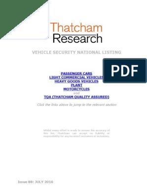 Thachem_July 2016 v5 pdf | Toyota | Lexus