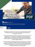 Taller de Monitoreo y Control de Proyectos_2016 AIP 7a GEN Módulo III
