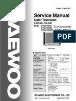 Daewoo Chassis Cn-220f; Models sc sc ss Dtq-21ussp
