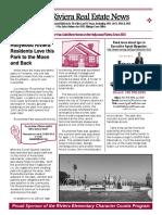 Hollywood Riviera Real Estate News October, 2016