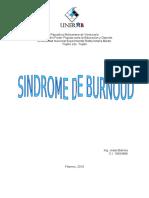 El Sindrome de Burnoud