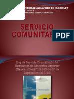 Charla de Servicio Comunitario 2014 (1)