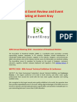 Find Best Event Review and Event Rating at Event Xray