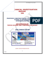 A Geotechnical Investigation Report