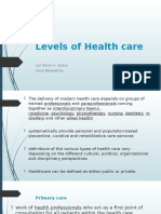 Levels of Health care.pptx