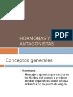 Hormonas y sus antagonistas.pptx