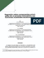 Regresión componentes principales