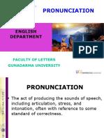 Pronunciation 1