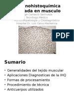 Inmunohistoquimica aplicada en musculo.ppt