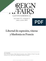 Libertad de expresión, viñetas y blasfemia en Francia.pdf