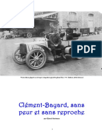 Clement-bayard Sans Peur Et Sans Reproche Debut