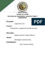 PATOLOGIAS CONSTRUCTIVAS