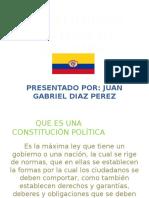 Diapositivas Juan Taller 1 Constitucion Politica