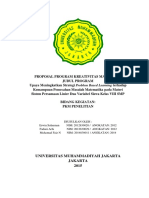 PKM P Upaya Meningkatkan Strategi Problem Base Learning