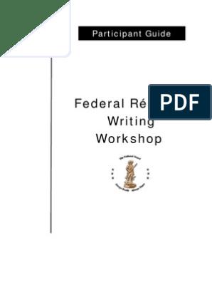 Federal Resume Writing Workshop Resume Business