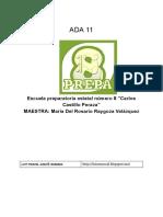 ADA 11 - Documentos de Google