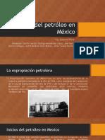 comienzos de la industria petrolera en mexico