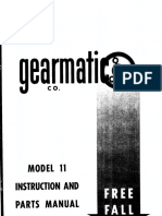 Gearmatic - Mod 11 - Parts
