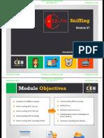 CEHv9 Module 07 Sniffing.pdf