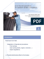 Impact of Aircraft Operations on Carbon Brake Condition