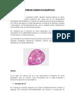 Síndrome de Ovarios Poliquísticos.blog
