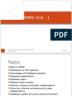 DBMS Unit - 1