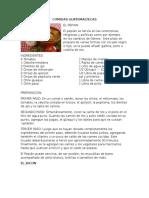 Comidas Guatemaltecas