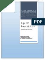 Algebra Proposiciona. Saira Y Fernando