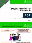 Catedra conociendo la universidad