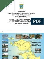 Paparan Jaringan Jalan Papua Barat
