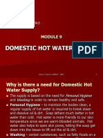 Module 9 - Hot Water