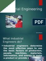 Industrial Engineering Presentation