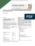 Gastroentrrología  y Hepatología