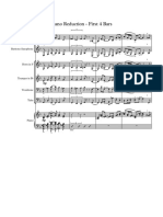 Boplicity Piano Reduction - First 4 Bars - Score and Parts