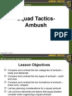 Squad Tactics - Ambush