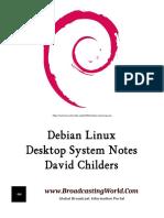 Debian Linux. Desktop