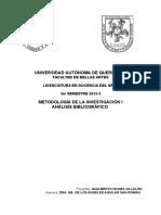 Analisis Bibliografico Canto y Vejez