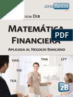 Leticia Dib. Matematica Financiaera Aplicada e Los Bancos