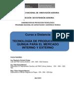 Módulo Ia - Curso a Distancia Tecnología de Producción de Quinua