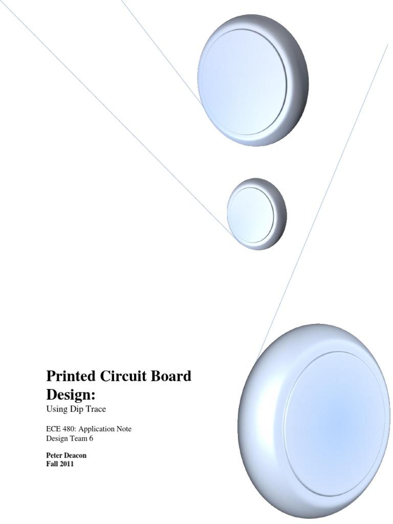 Printed Circuit Board Design With Diptrace   Printed Circuit