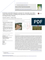Evaluating sustainable adaptation strategies for vulnerable mega-deltas using system dynamics modelling