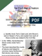 5th grade unit 4 civil war