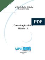 Módulo 1.1 - Comunicação Organizacional e Interpessoal